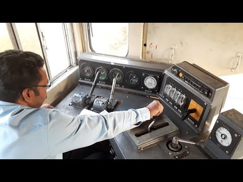 Inside the Standard DIESEL Locomotive l Indian Railway Engines l 2018