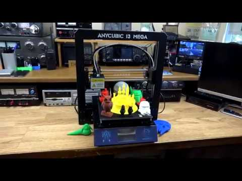 Anycubic I3 MEGA Full Metal Frame FDM 3D Printer Unboxing  Build & Test