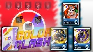 New Color Clash Promo Overview & Pack Opening - Best so Far? - Madden Overdrive