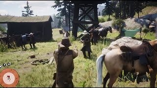 Red Dead Redemption 2 Gameplay LEAK Upcoming Western-themed ACT.ADV game