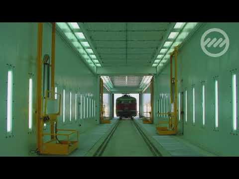 Spray booths for the Railway Sector - Equipos Lagos