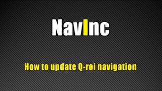 How to update Q-roi navigation