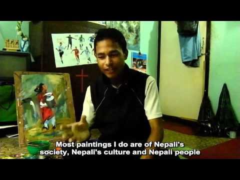 Madan Shrestha - Nepalese painter
