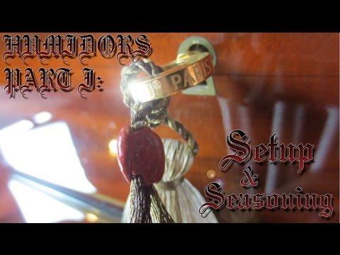 All About Aging III Humidors, pt1 Setup & Seasoning