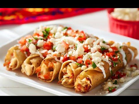 Cheesy Chicken Taquitos
