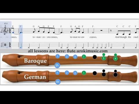 Jessie J - Flashlight - How To Play Recorder Flute Sample Key - Sheet Music