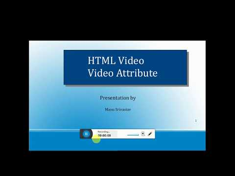 Html Basic Tutorial -07- Video Html