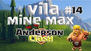 CLASH OF CLANS - EVOLUINDO UMA VILA MINIMAX #14 UPANDO O GIGANTE PARA O LEVEL 5