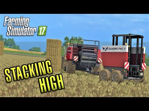 Farming Simulator 2017 | STACKING HIGH | Sandy Bay | Episode 8