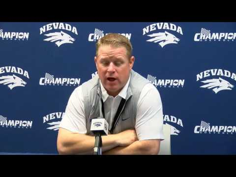 Nevada Football Post Game Press Conference
