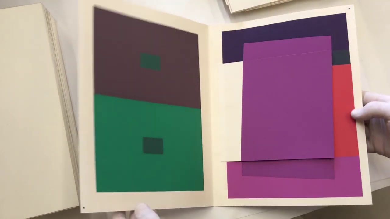 Trailer Documental La Interacción Del Color Josef Albers Youtube
