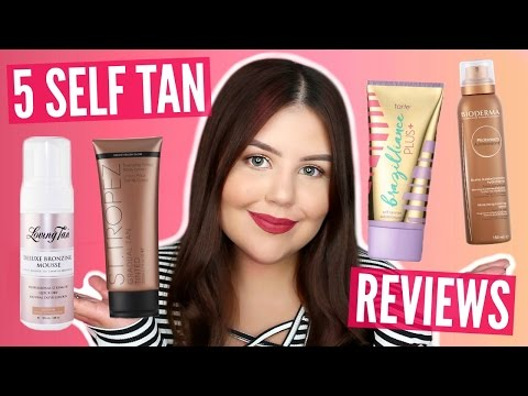 5 SELF TANNER REVIEWS | Fair & Sensitive Skin