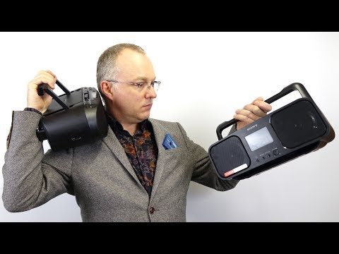 Sony's New Cassette Boomboxes -  East meets West
