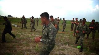 Philippines and United States Marines - Martial Arts Training