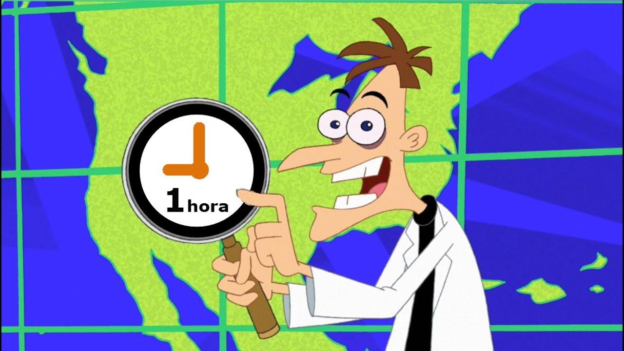 Doofenshmirtz prehistórico mirando *1 hora* agua cayendo de una estalactita