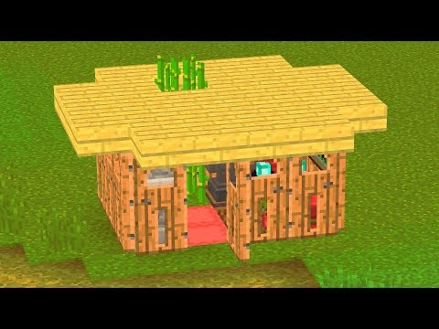 WORLD'S SMALLEST MINECRAFT HOUSES.. (USEFUL)