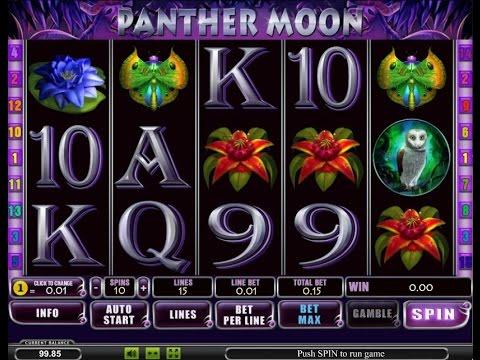 Секрет игрового автомата Пантера (Panther Moon)