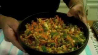 Sprouts Salad Chat (Diabetic and Weight loss recipe)