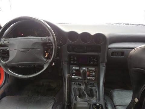 1992 Mitsubishi 3000gt VR4 Cold Start & Driving