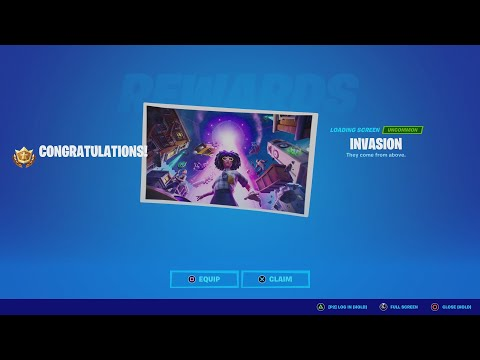 Download How To Unlock The EXCLUSIVE Season 7 INVASION Loading Screen!