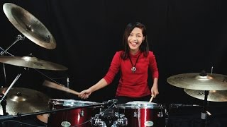 Hesty - Klepek Klepek - Drum Cover by Nur Amira Syahira