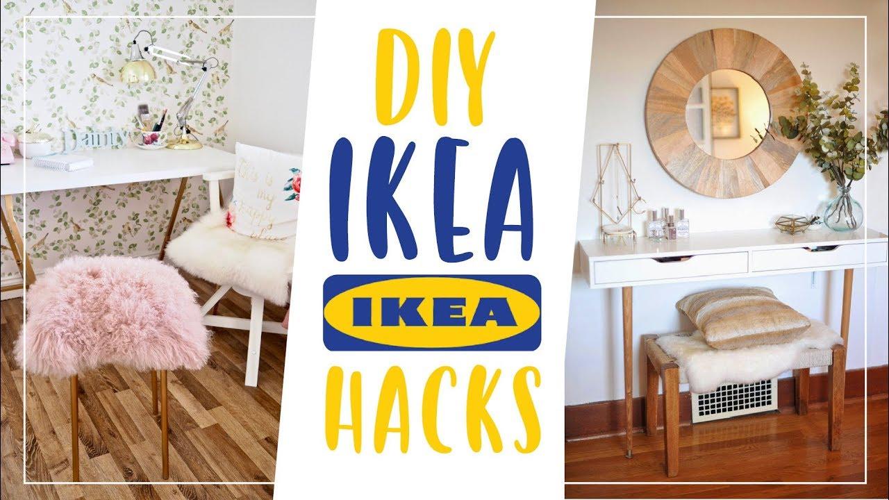 5 DIY IKEA HACK IDEEN 👨 🔧 Günstig U0026 Einfach ⚡ AnnKath Beauty