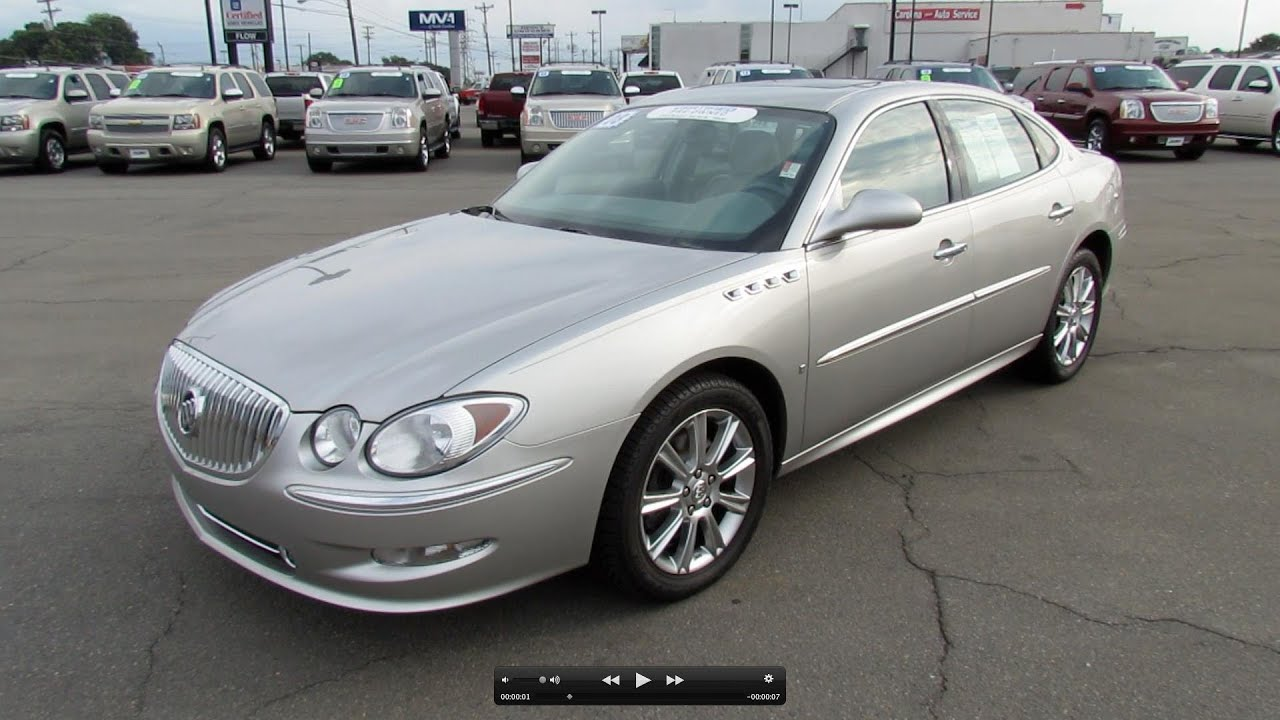 2008 Buick Lacrosse Super For Sale >> 2008 Buick Lacrosse Super 5 3l V8 Start Up Exhaust And In Depth Review