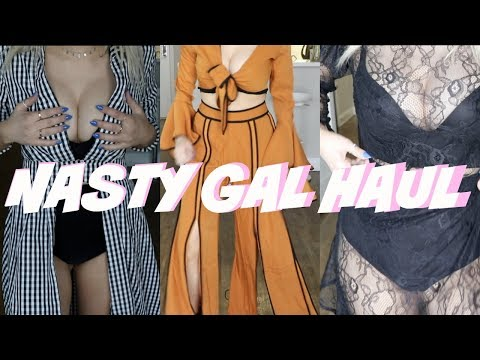 CLOTHING HAUL WITH NASTY GAL!! (FESTIVAL SEASON)