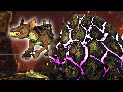 EASY ROCK DRAKE EGG STEALING! WHERE TO FIND AND STEAL ROCK DRAKE EGGS! Ark: Aberration DLC Gameplay