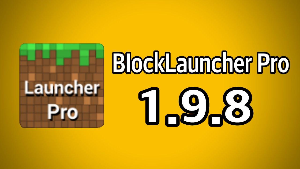 blocklauncher pro 1.9.8