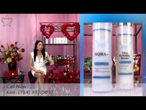 OASIS Medical Grade, HQRA+, Ultra Hydrating Booster & Clear Defense SPF45