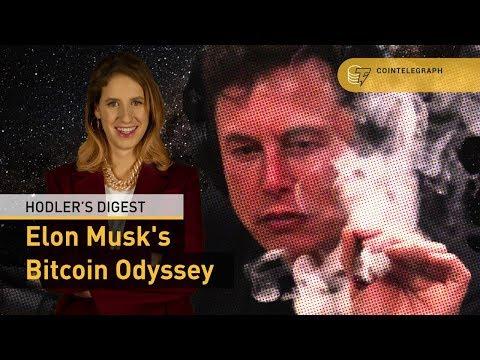 Elon Musk's Bitcoin Odyssey   Hodler's Digest