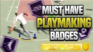 *NEW* BEST PLAYMAKING BADGES on NBA 2K20! IN DEPTH BREAKDOWN OF EVERY BADGE on NBA 2K20 (All Builds)