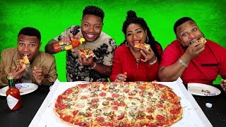 Party Pizza Family Challenge and family fun story time