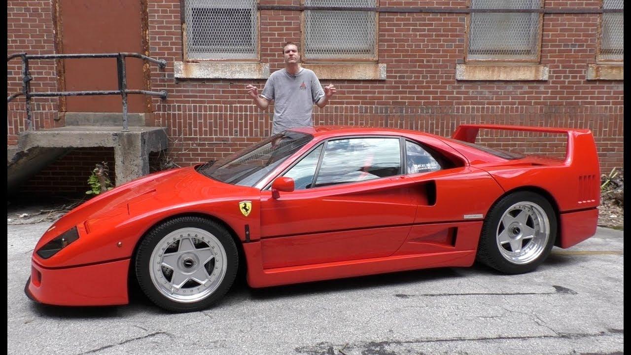 Here's Why the Ferrari F40 Is Worth $1.3 Million - YouTube