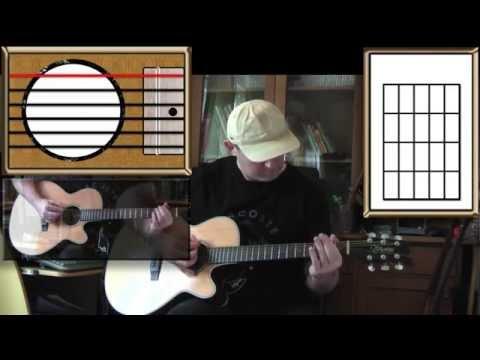 I Wonder - Sixto Rodriguez - Acoustic Guitar Lesson (easy)