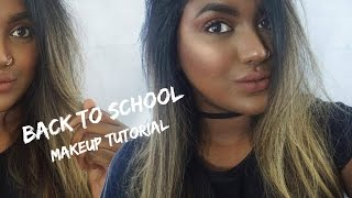 BACK TO SCHOOL MAKEUP TUTORIAL: WARM and EASY  | Limitlessbwl