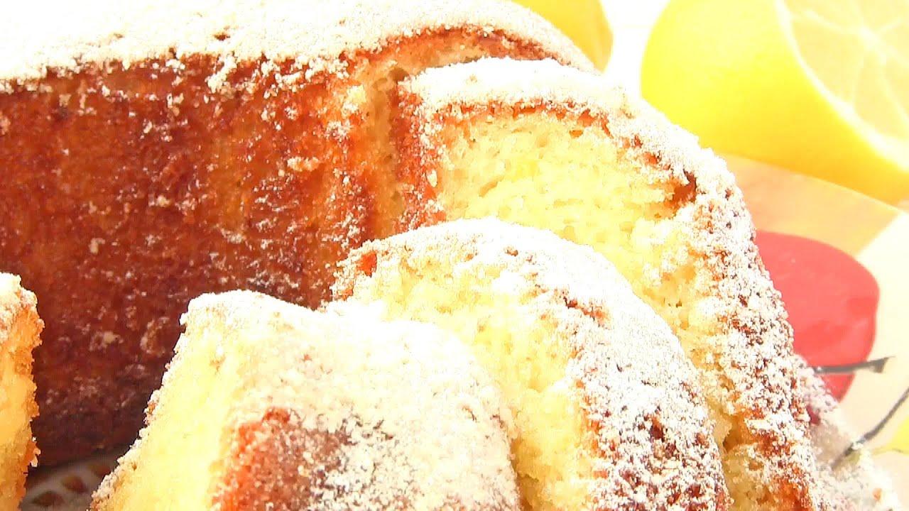 КЕКС Лимонный:Рецепт как испечь кекс с лимоном-VIKKAvideo