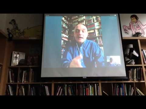 5th Graders Skype with Michael Scott, author of The Alchemyst