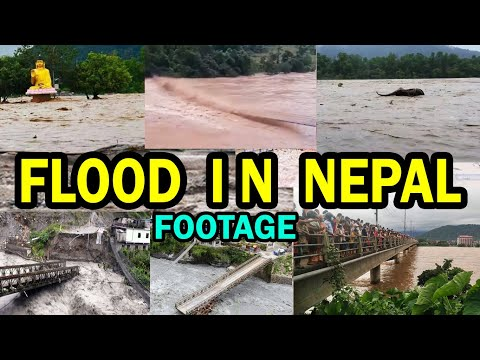 Flood in Nepal 2020 | Latest Footage Collection | ACM NEPAL