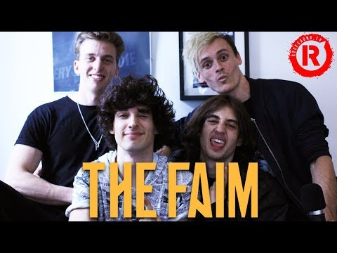The Faim Talk Writing Music With Pete Wentz, Josh Dun, Ashton Irwin And Mark Hoppus