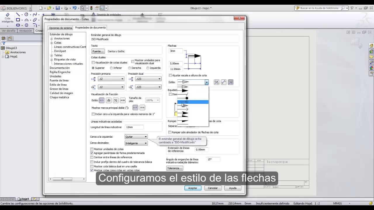 PERSONALIZACIÓN DE FORMATO DE HOJA PARA PLANOS EN SOLIDWORKS - YouTube
