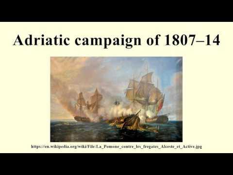Adriatic campaign of 1807–14