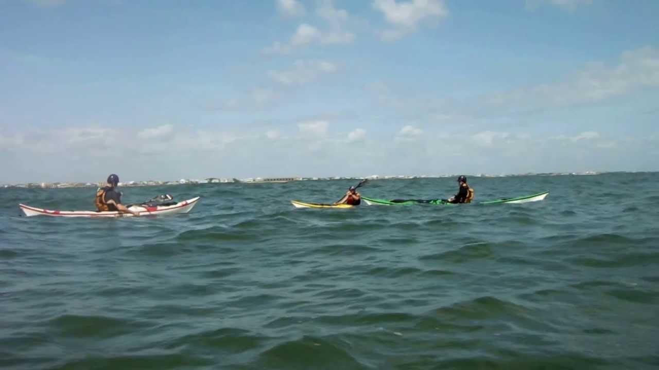 Sea Kayaking Vilano Inlet #1 - YouTube