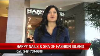 Happy Nails And Spa Of Fashion Island Review By Melissa D.