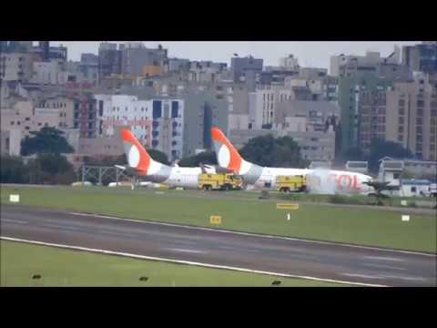 BOEING 737 700  PR VBW ACIONA E DECOLA DO AEROPORTO DE LONDRINA