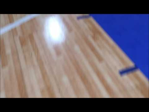 Basketball Floors For Sale Sportscourt Maple Select Youtube