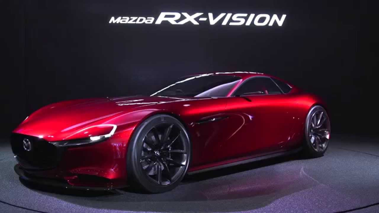 2018 Mazda Rx7 >> MAZDA RX-VISION 360 VIEW STYLING - YouTube