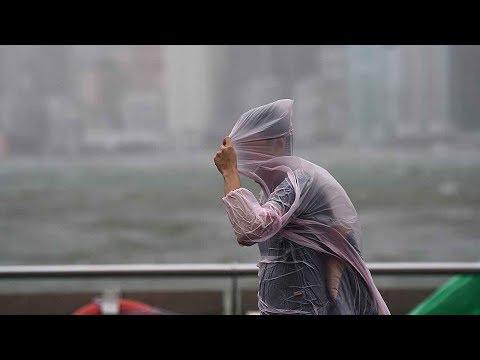 Typhoon Hato moving westwards in China, as HK downgrades warning
