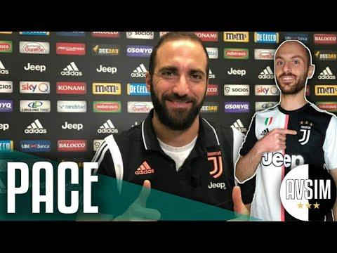 Higuain col cuore nella Juventus ||| Avsim Zoom